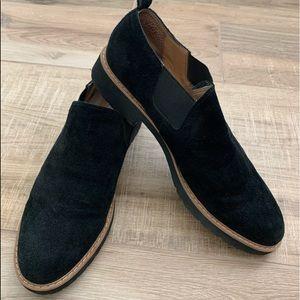 Franco Sarto loafers, black. Size 11
